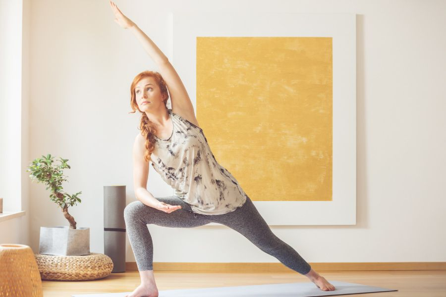 Ejercicios de yoga para realizar en casa