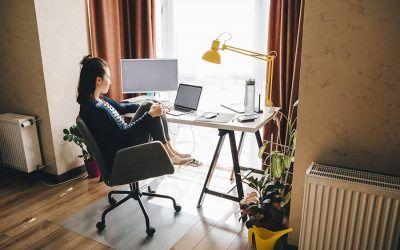 Ahorra trabajando desde casa