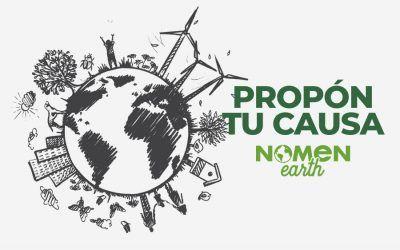 Y tú, ¿a qué causa medioambiental quieres que Nomen Earth 2021 done sus beneficios?